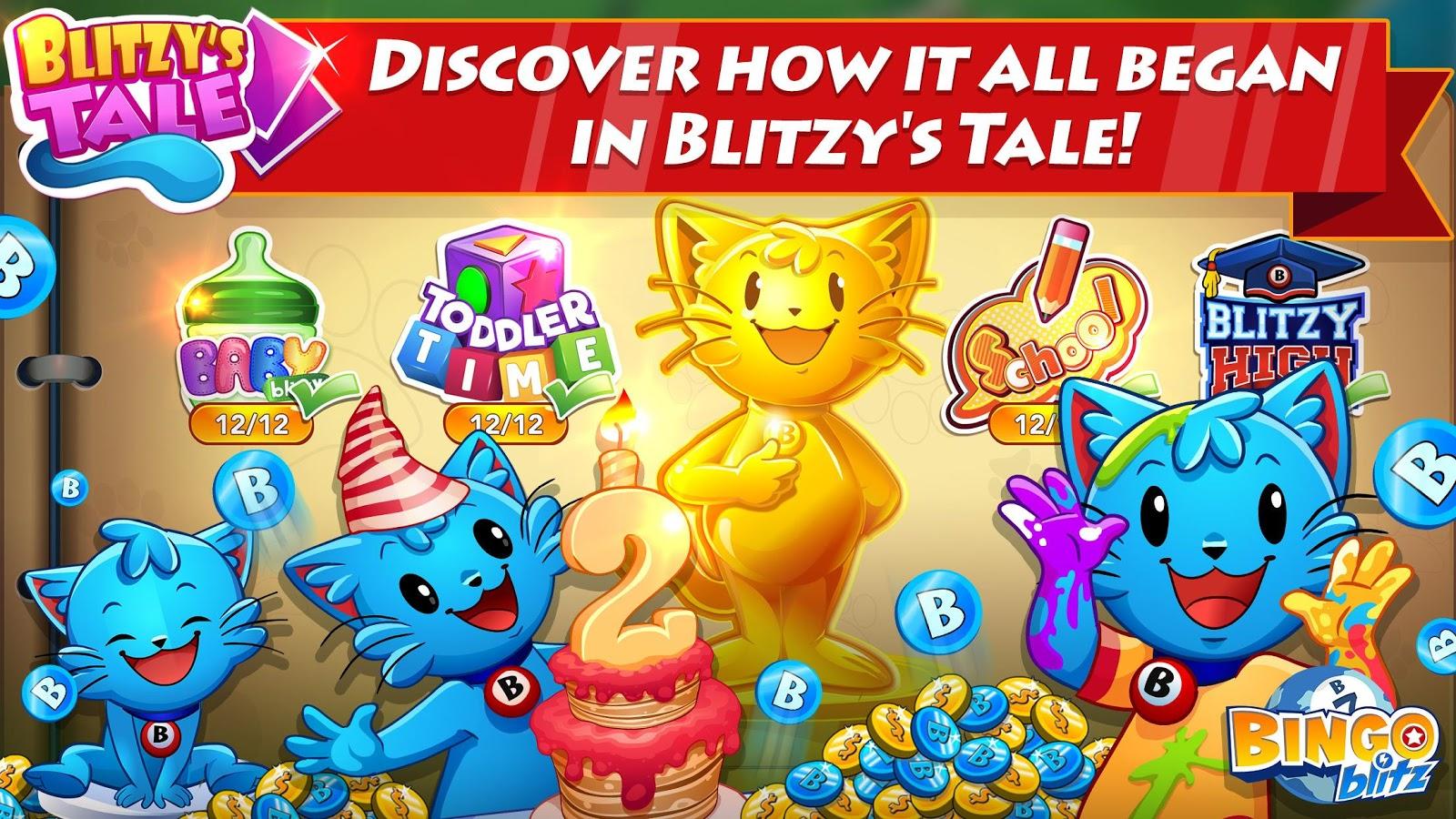 Screenshots of Bingo Blitz: Free Bingo for iPhone