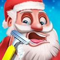 Santa Beard Shave Salon: Makeover Look Change Game icon