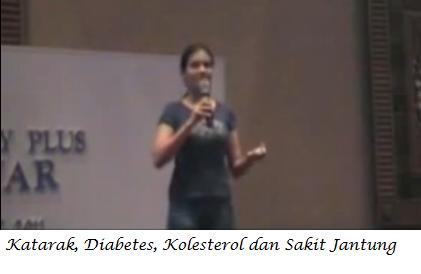 S.LUTENA Memperbaiki Katarak, Diabetes, Kolesterol & Sakit Jantung