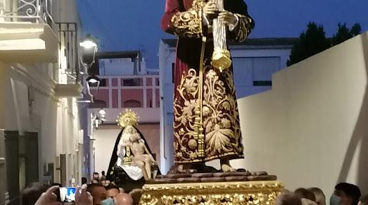 Almería vive su primera 'procesión' tras la pandemia