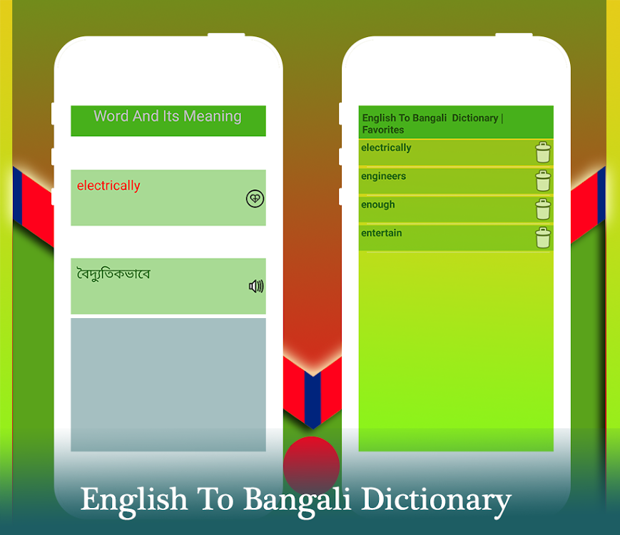English to Bengali dictionary – (Android Aplikace) — AppAgg