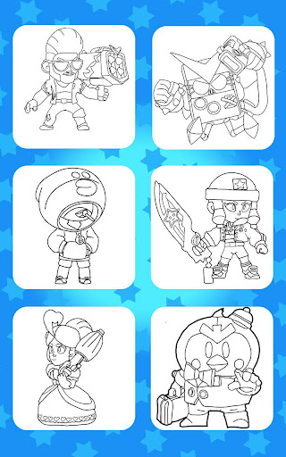 Coloring for Brawl Stars 0.1 screenshots 6