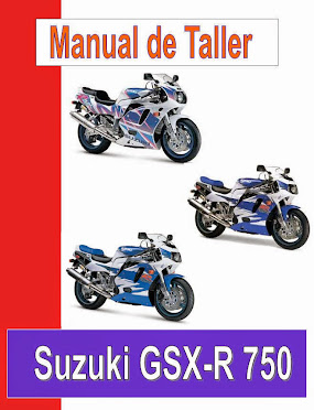 suzuki GSX-R 750 W-manual-taller-despiece-mecanica