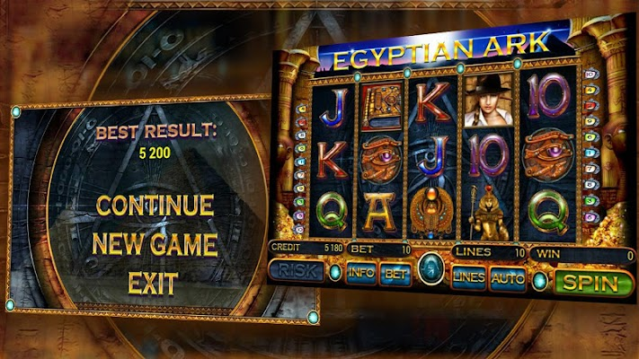 Egyptian Ark slot - screenshot