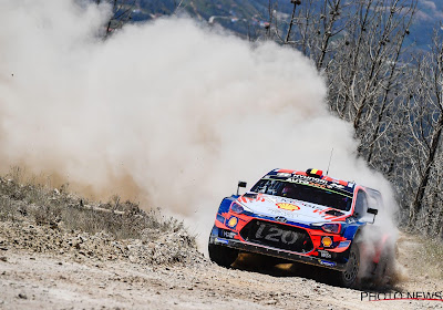 Thierry Neuville stijgt naar derde plaats in de rally van Portugal