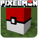 pixelmon go crafting & building: MCPE mod World 3D APK