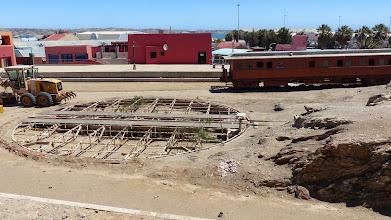 Photo: The old railway turntable