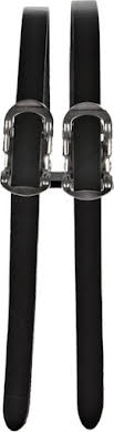 All-City Double Toe Straps - Leather alternate image 0