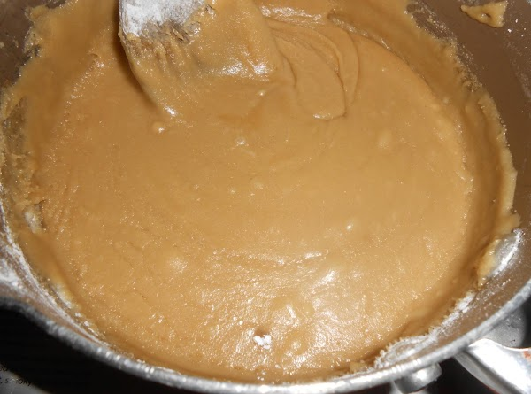 FOR FROSTING: mix the brown sugar with 2 Tbsp. milk in a medium saucepan....