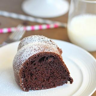 Skinny Chocolate Bundt Cake.