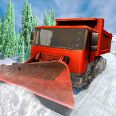 City Snow Blower Truck: Excavator Snow Plow Games