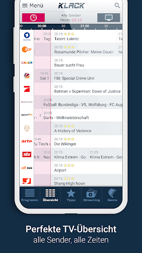 KLACK Fernseh- & TV-Programm 1.18.8 screenshots 2