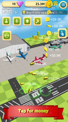 airfield tycoon clicker game screenshot 3
