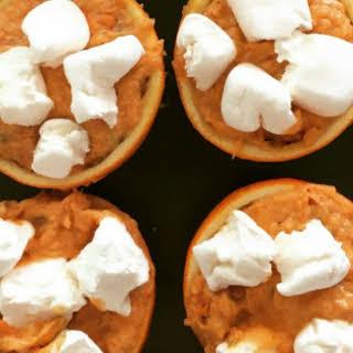 Sweet Potato Orange Cups.