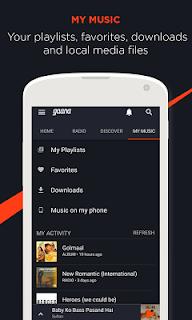 Gaana: Bollywood Music & Radio screenshot 04