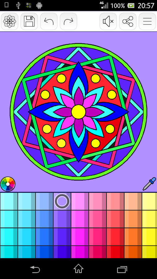Coloring Pages App Android : Mandalas coloring pages android apps on google play