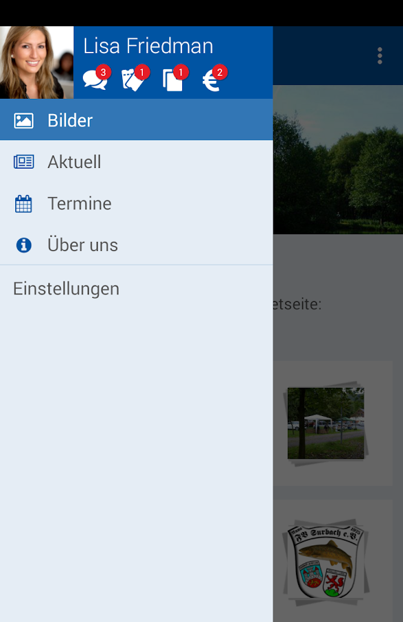 Fischereiverein Surbach e.V. – Screenshot