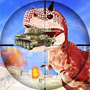 FPS Dinosaur Hunter: Dino Gun Action Games 2018