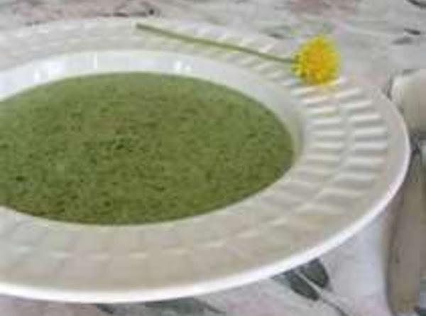 Litha's Cream Of Dandelion Soup Recipe