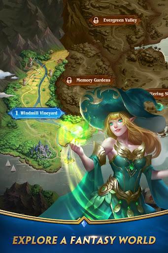 Deck Heroes: Puzzle RPG screenshot 5