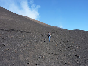 Photo: Etna, Wanderung zum Gipfel