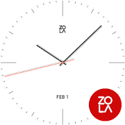 Clean White Watch Face