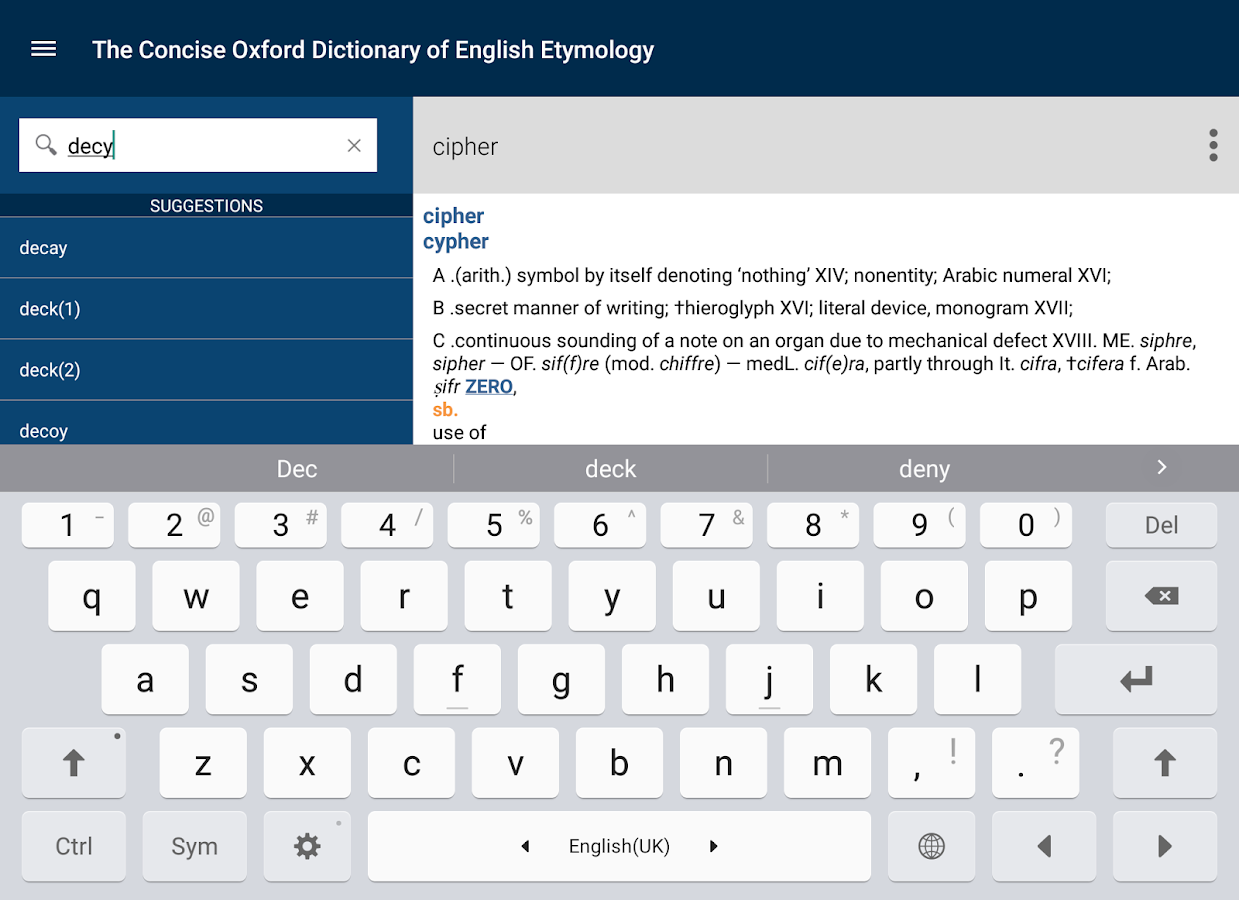 Buy The Concise Oxford Dictionary of English Etymology - Microsoft Store