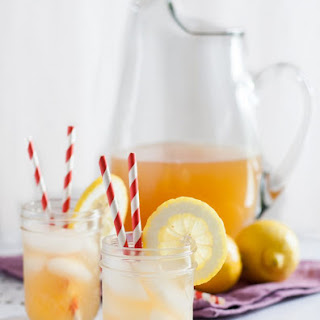 Raw Honey Lavender Lemonade.