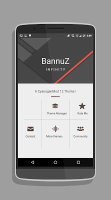 BannuZ Cm12.1 / RR  theme - screenshot