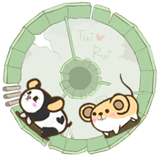 Rolling Mouse Hamster Clicker