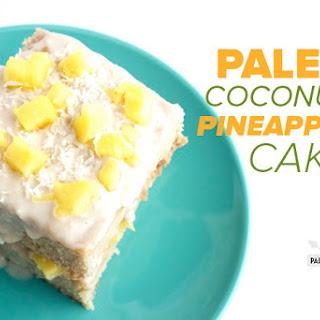 Paleo Coconut Cake with Pineapple.