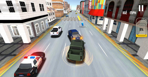 Real City Police Car Driving apktram screenshots 2