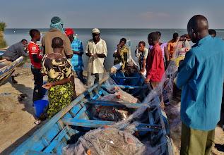 Photo: Zurück vom Fischfang.