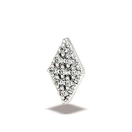 Diamond Illusion9 1mmstones 9.5x6mm
