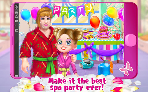 Spa Day with Daddy - Makeover Adventure for Girls 1.0.2 screenshots 4