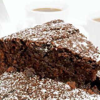 Chocolate & Coffee Whiskey Cake.