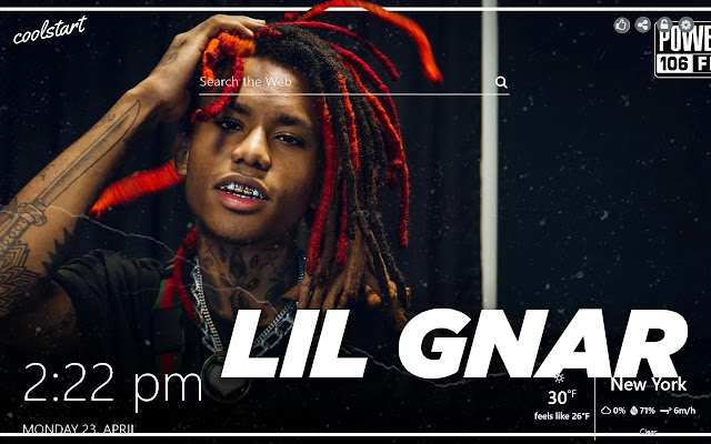 Lil Gnar HD Wallpapers Hip Hop New Tab Theme