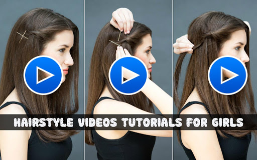 Hairstyle Video Tutorial for Girls 2019 1.3 screenshots 1
