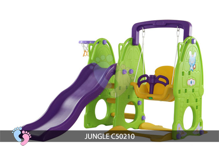 Cầu trượt cho bé Jungle C50210 4