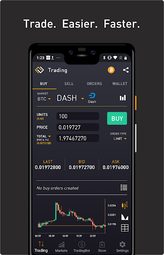 ProfitTrading For Binance - Trade much faster screenshot for Android