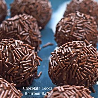 Chocolate Cocoa Bourbon Balls