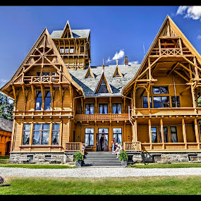 Villa Fridheim...Krødsherad, Norway.. by Svein Hurum - Buildings & Architecture Public & Historical