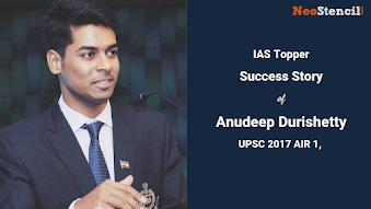 Anudeep Durishetty  (UPSC 2017, AIR 1) - IAS Topper Success Story