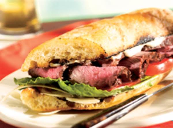 Caesar-style Steak Sandwiches Recipe