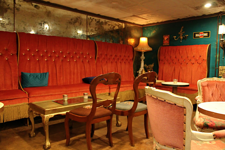 Interior of Milonga Room.