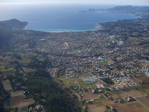 Photo: St Cyr 700m en dessous