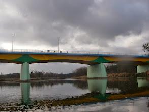 Photo: odnowiony most w Nowogrodzie