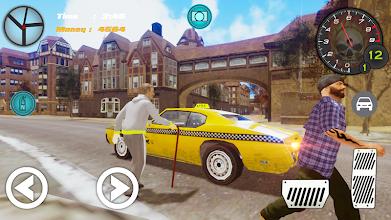 Real Taxi Driver 2018 screenshot thumbnail