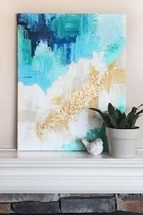 Nápady malířské malby na plátně - náhled