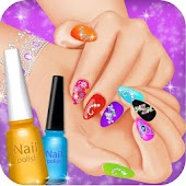 Bridal Nail Art Salon Girls Games